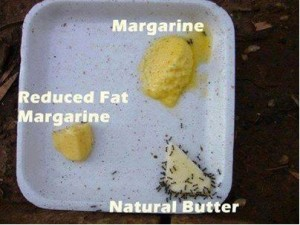 boter, margarine en halvarine