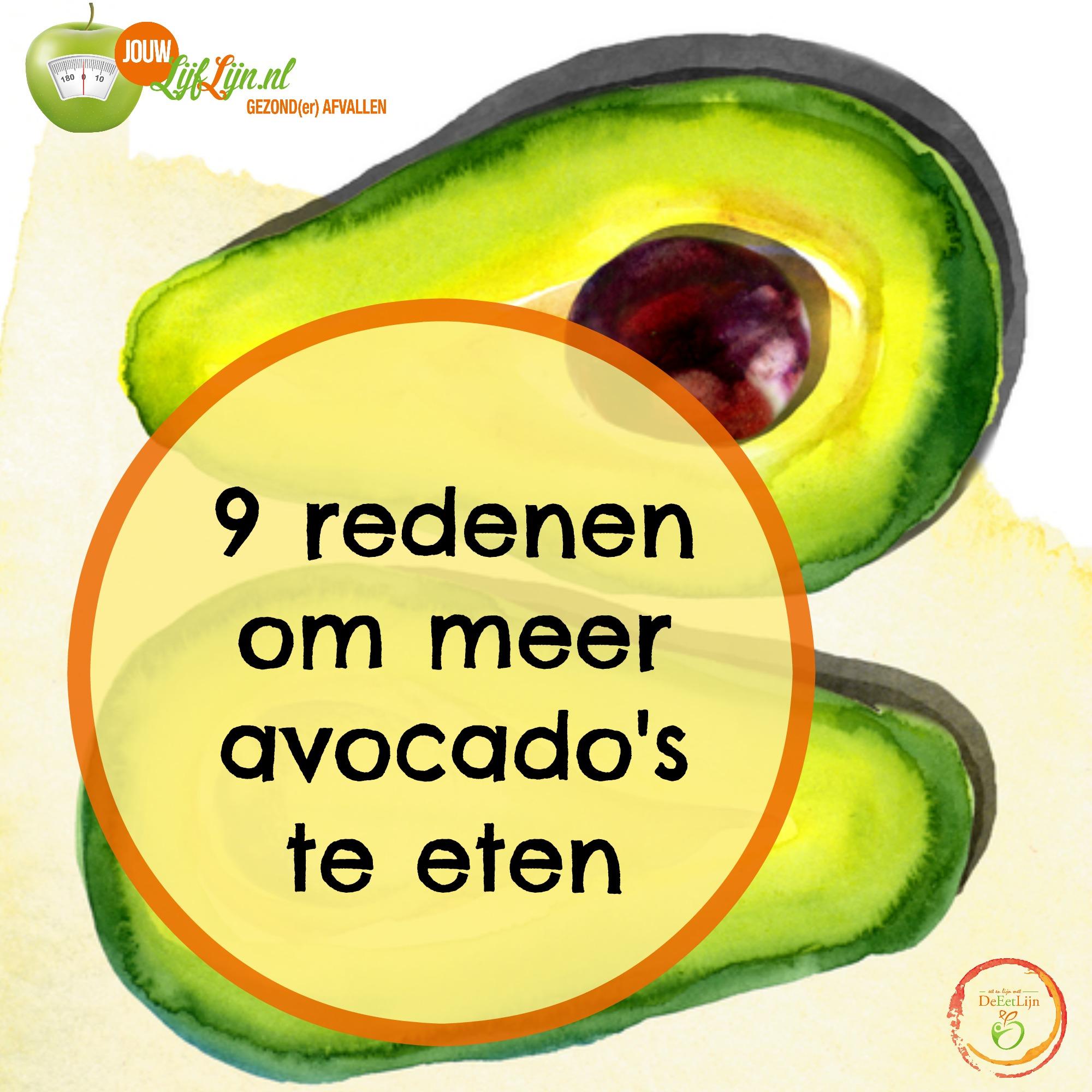 avocado gezond, jouw lijflijn